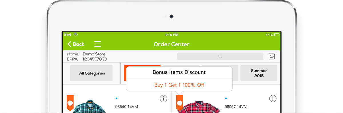 sales rep app that can actually increase order size and margins
