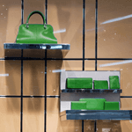 mobile merchandising for bags and luggage