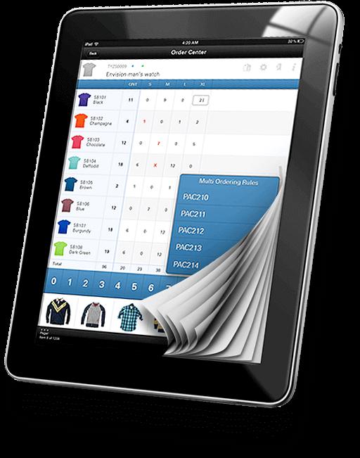 Mobile sales suite - e-catalog