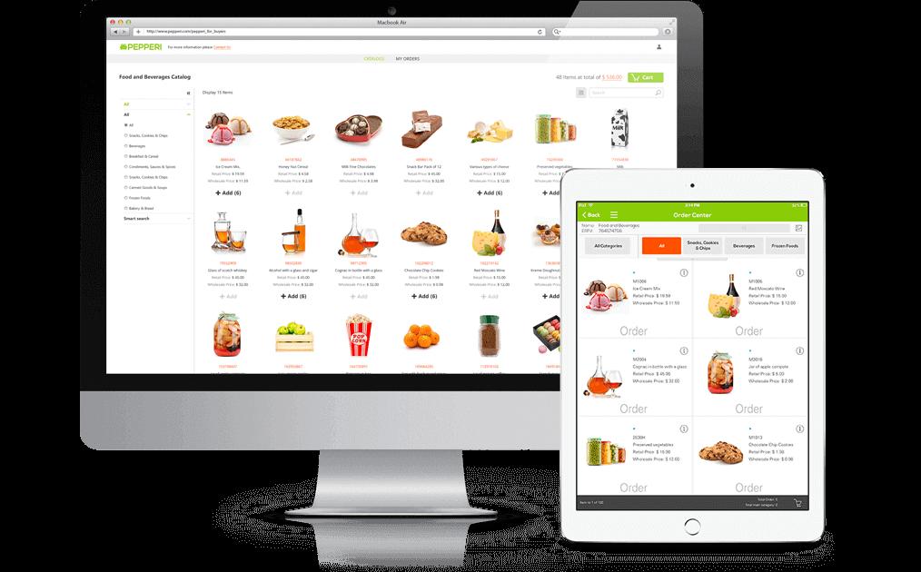 Pepperi B2B e-Commerce