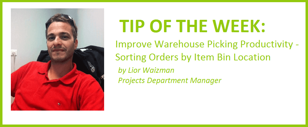Improve Warehouse Picking Productivity