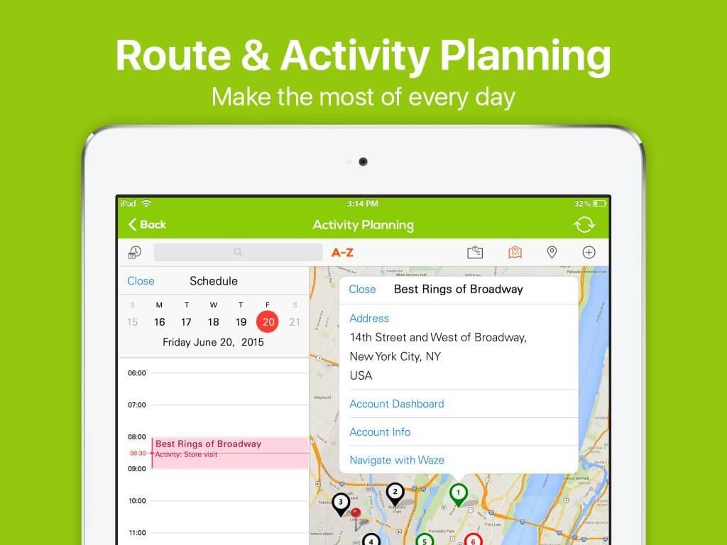 sales route planner