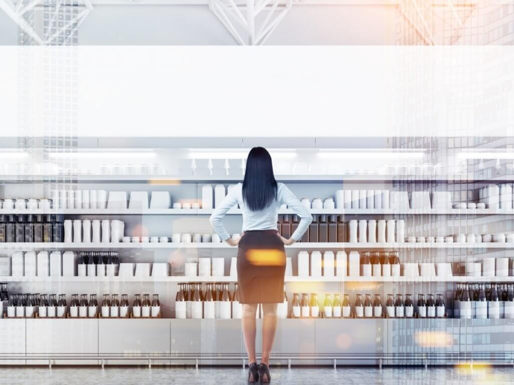 woman looking for retail execution ideas
